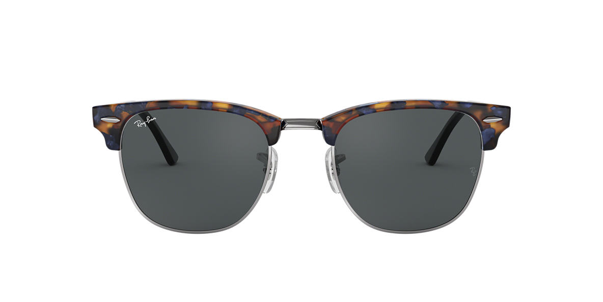 RAY-BAN Tortoise RB3016 49 CLUBMASTER Grey lenses 49mm