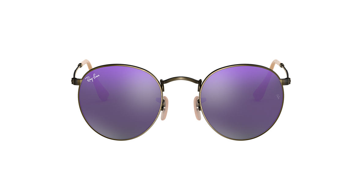 RAY-BAN Bronze RB3447 Purple lenses 50mm