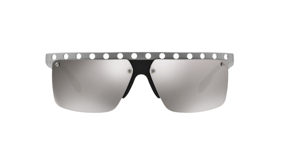 PRADA Silver PR 50RS 62 Grey lenses 62mm