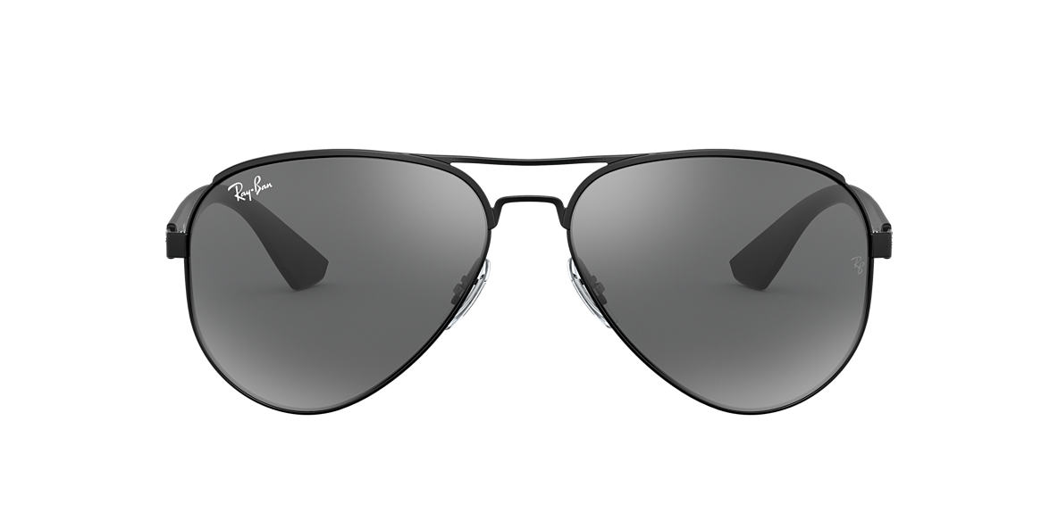 RAY-BAN Black RB3523 59 Grey lenses 59mm