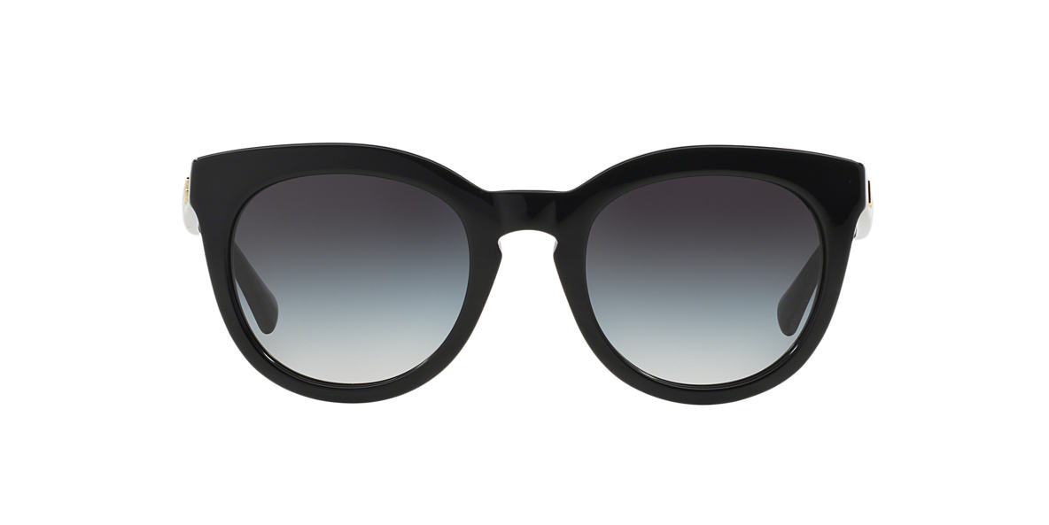 DOLCE AND GABBANA Black DG4249 50 Grey lenses 50mm