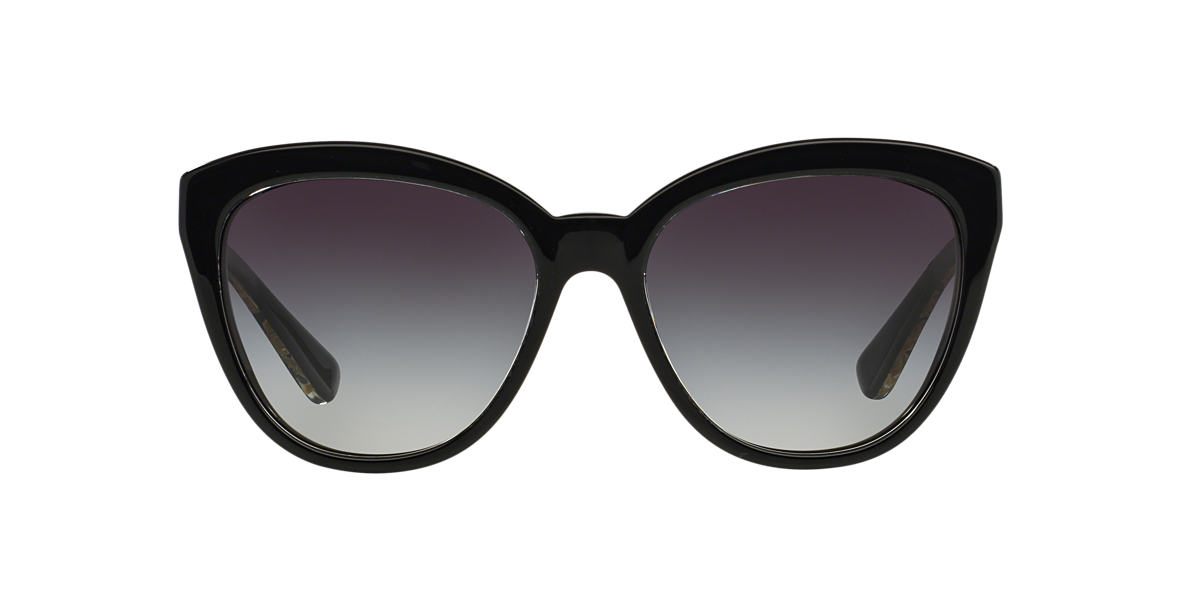 DOLCE and GABBANA Black DG4250 56 Grey lenses 56mm