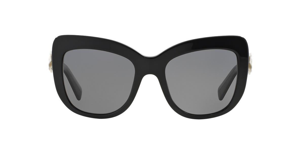DOLCE AND GABBANA Black DG4252 55 Grey polarised lenses 55mm