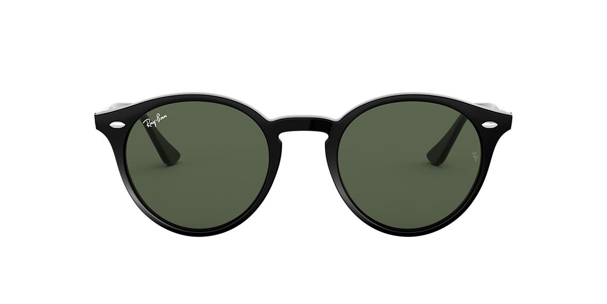 RAY-BAN Black RB2180 49 Grey lenses 49mm
