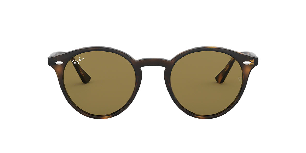 RAY-BAN Tortoise RB2180 49 Brown lenses 49mm