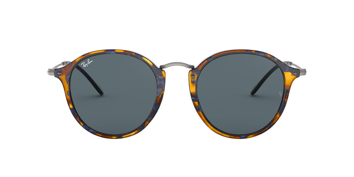 RAY-BAN Tortoise RB2447 49 Grey lenses 49mm