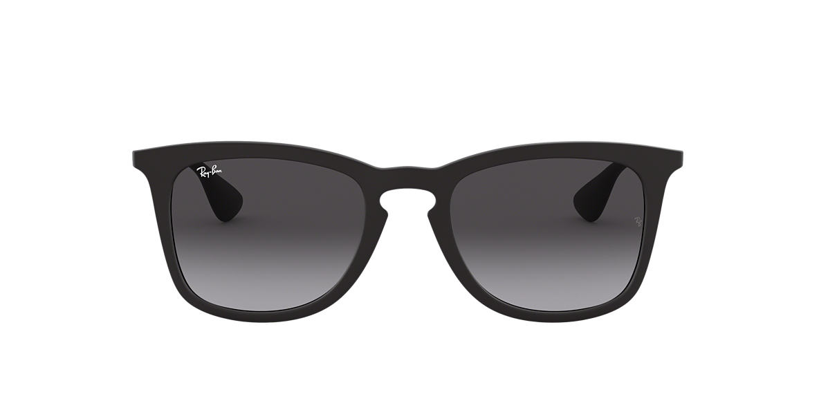 RAY-BAN Black RB4221 50 Grey lenses 50mm