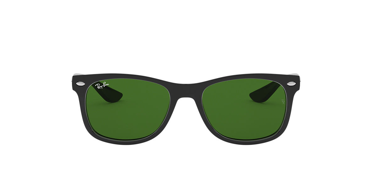 RAY-BAN CHILDRENS Black RJ9052S Green lenses 47mm