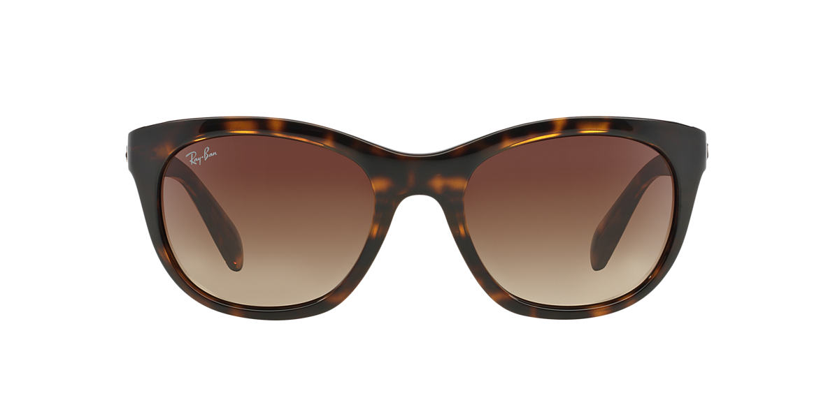 RAY-BAN Brown RB4216 Green lenses 56mm