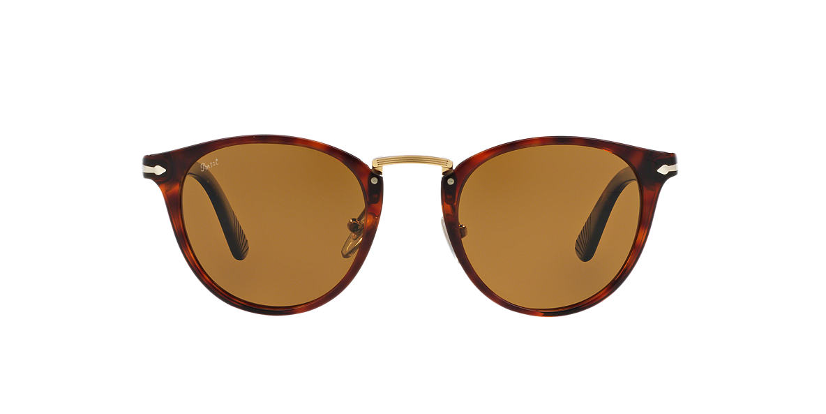 PERSOL Brown PO3108S 47 Brown polarised lenses 47mm