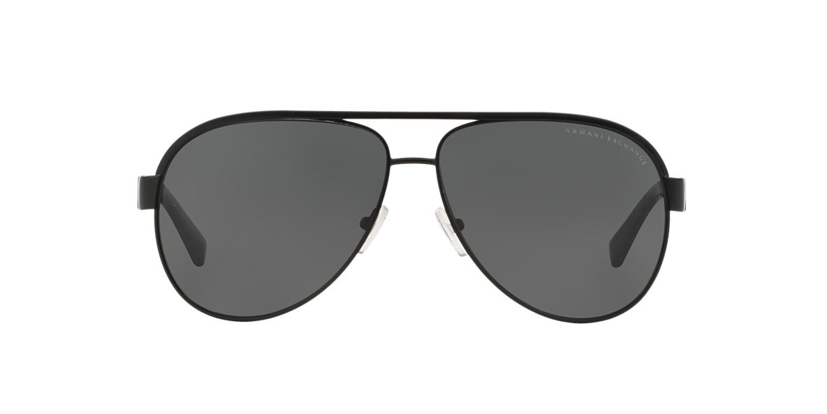 ARMANI EXCHANGE Black AX2013 Grey lenses 60mm