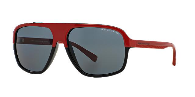 Image of Armani Exchange Ax4020s Multicolor Aviator Sunglasses