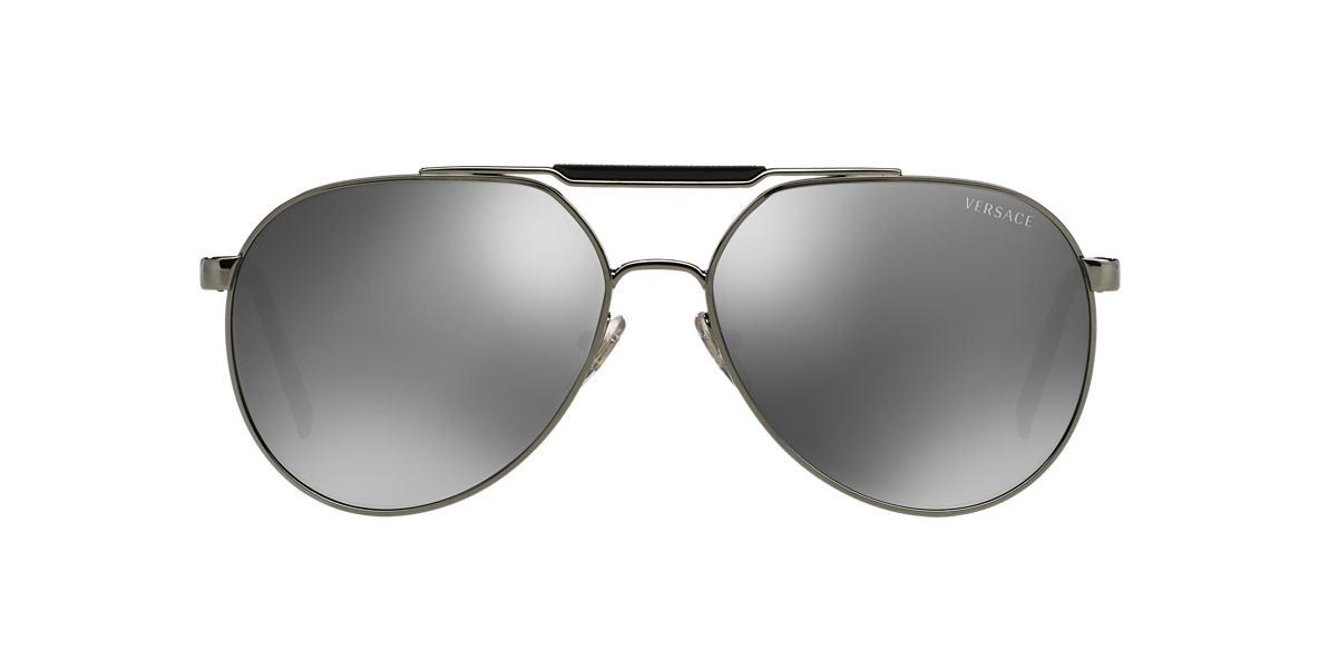 VERSACE Gunmetal VE2155 59 Grey lenses 59mm
