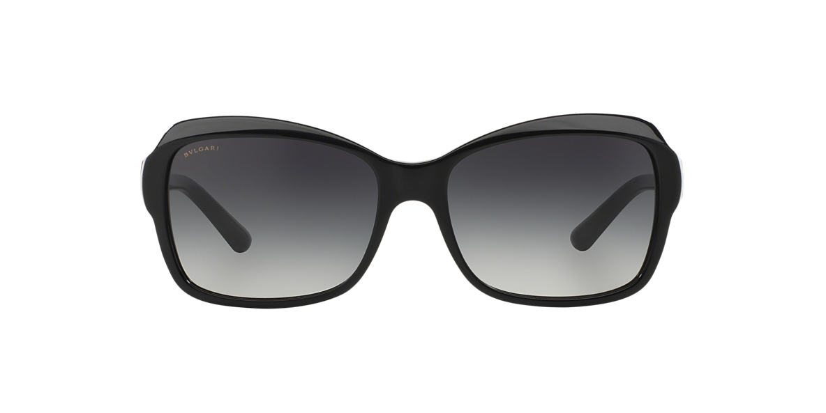 BVLGARI Black BV8153B Grey lenses 57mm
