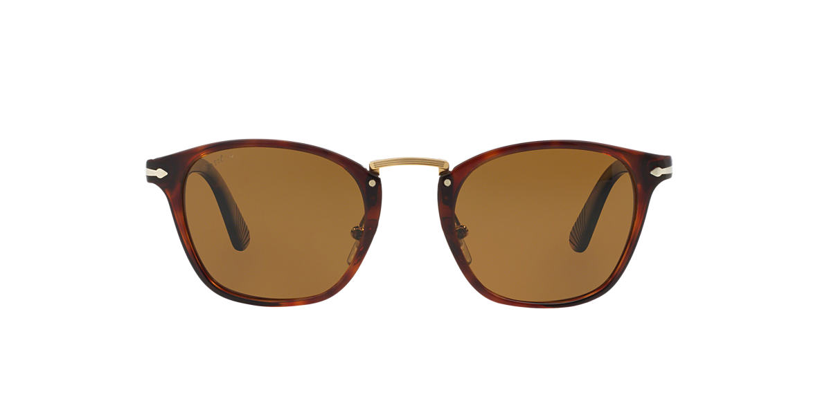 PERSOL Brown PO3110S 51 Brown polarised lenses 51mm