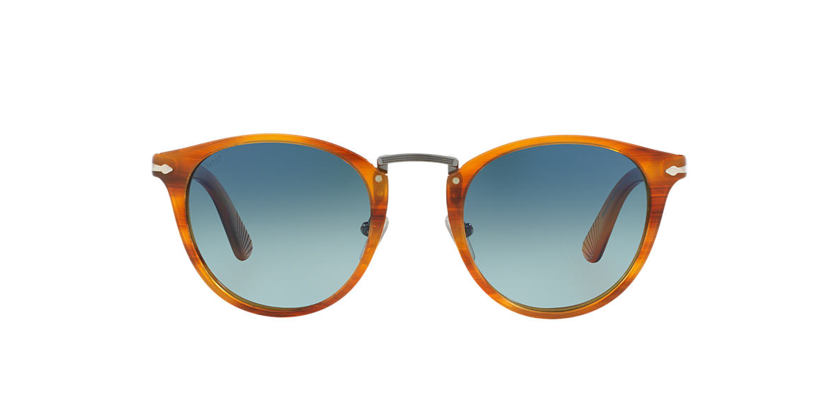 PERSOL Brown PO3108S 49 Blue polarised lenses 49mm