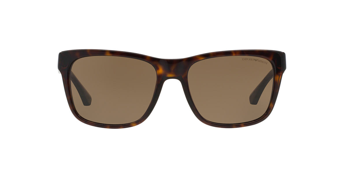 EMPORIO ARMANI Tortoise EA4041 56 Brown lenses 56mm