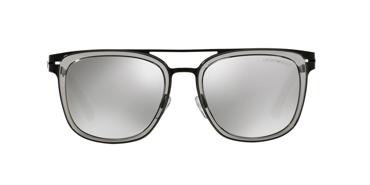 EMPORIO ARMANI Black Matte EA2030 56 Grey lenses 56mm