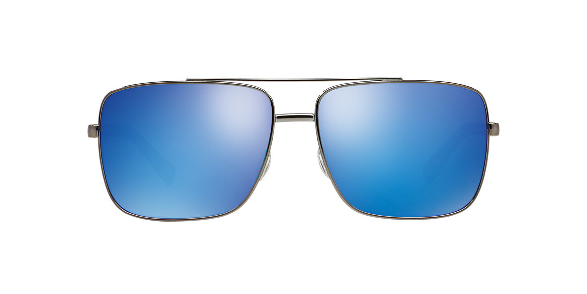 DOLCE AND GABBANA Gunmetal DG2142 62 Blue lenses 62mm