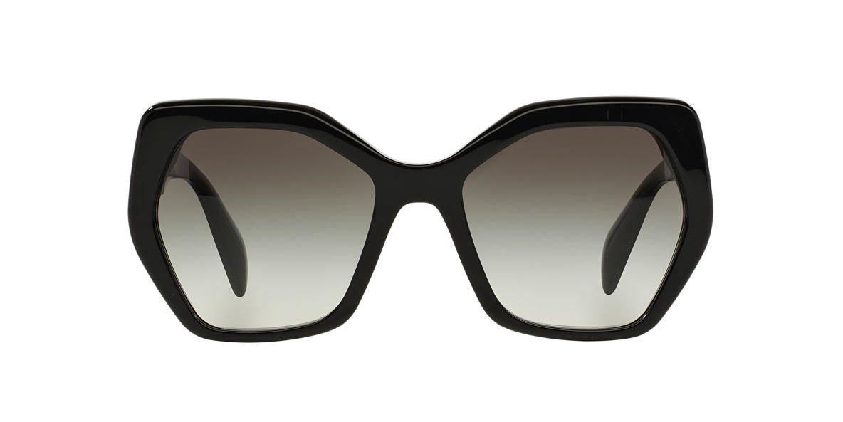 PRADA Black PR 16RS 56 Grey lenses 56mm
