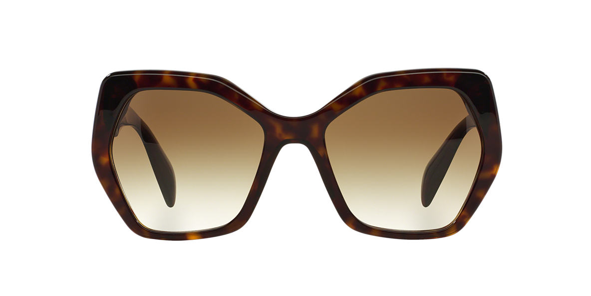 PRADA Brown PR 16RS 56 Brown lenses 56mm