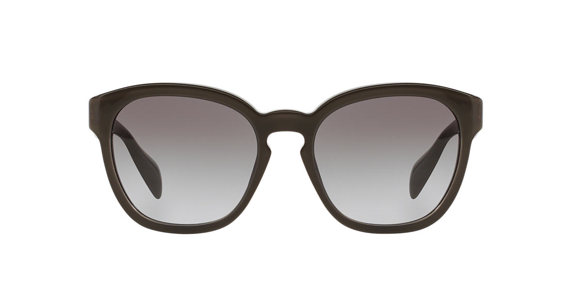 PRADA Brown PR 17RS 53 Pink lenses 53mm