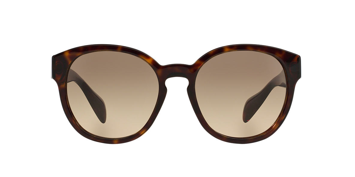 PRADA Tortoise PR 18RS 56 Brown lenses 56mm