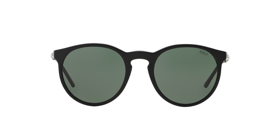 POLO RALPH LAUREN Black PH4096 50 Green lenses 50mm