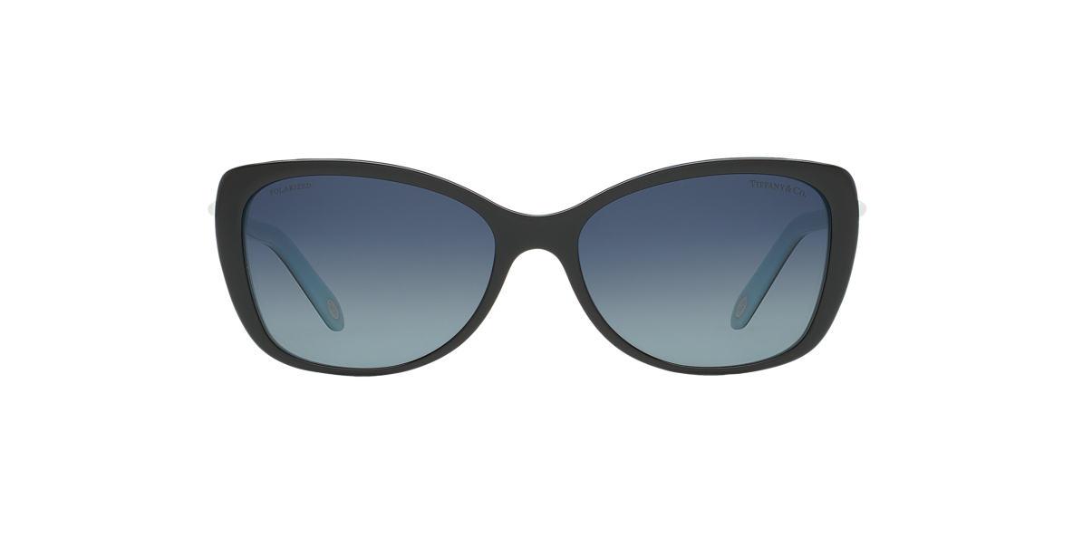 TIFFANY Black TF4103HB 56 Blue polarized lenses 56mm