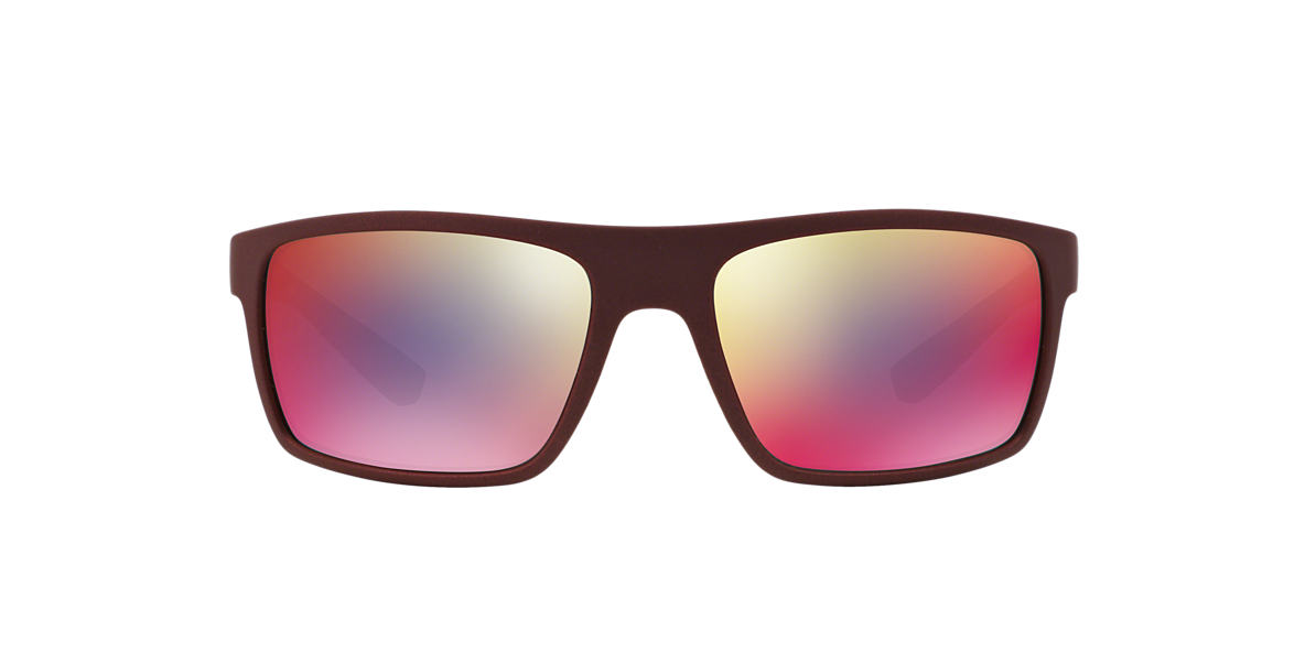 PRADA LINEA ROSSA Burgundy PS 02QS 62 Grey lenses 62mm