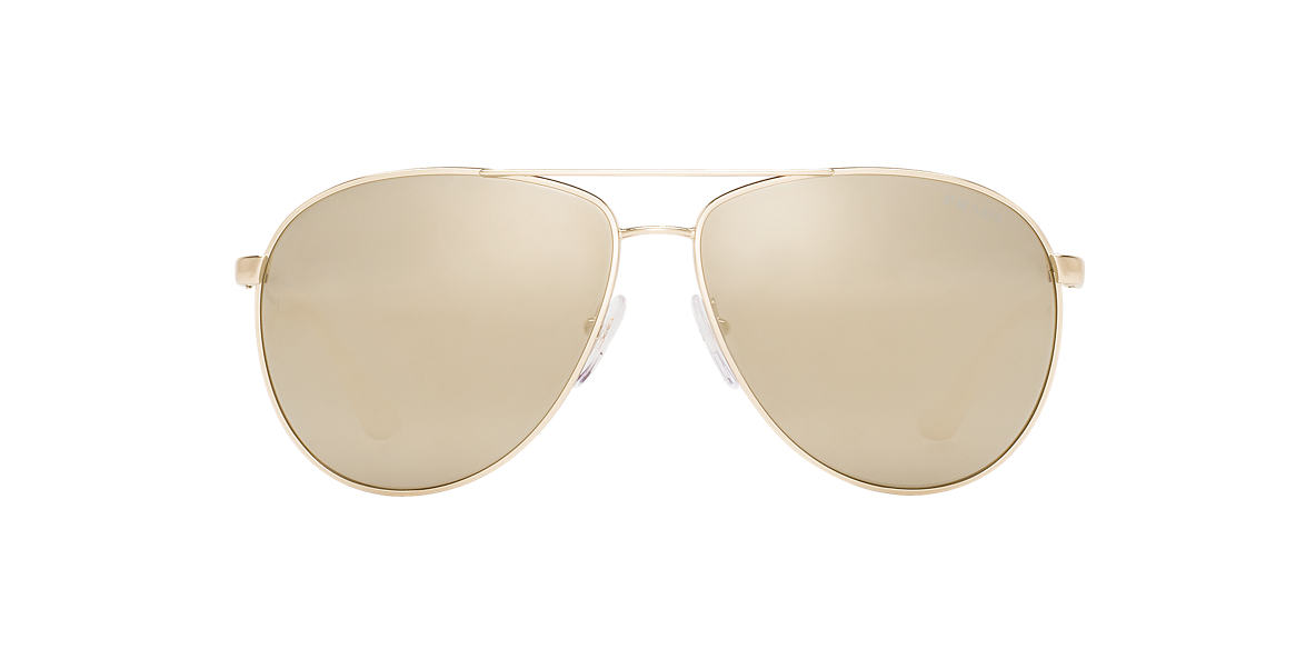 PRADA Multicolor PR 53QS 60 Gold lenses 60mm