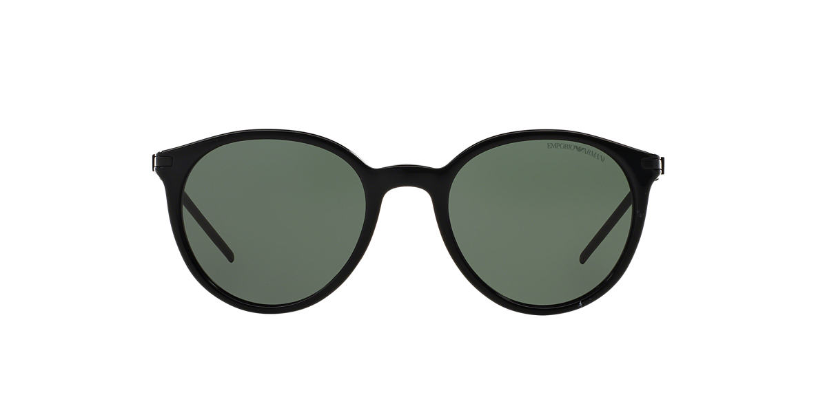 EMPORIO ARMANI Black EA4050 50 Grey lenses 50mm