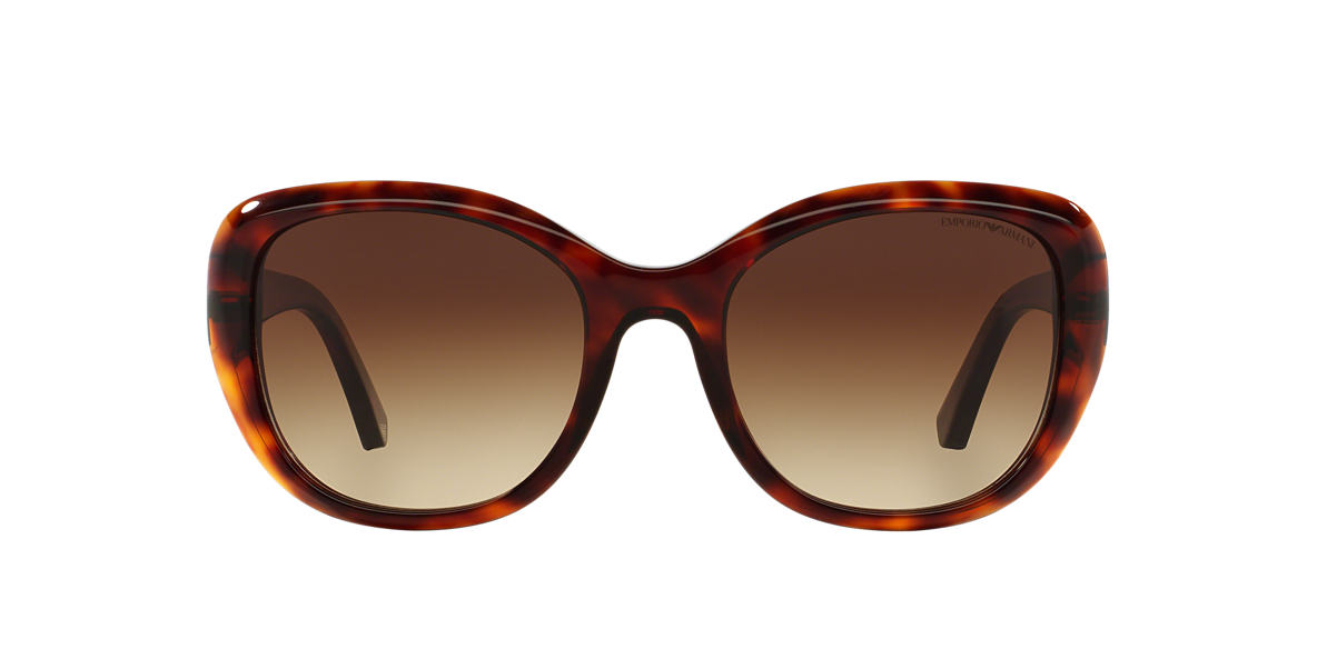 EMPORIO ARMANI Brown EA4052 54 Brown lenses 54mm