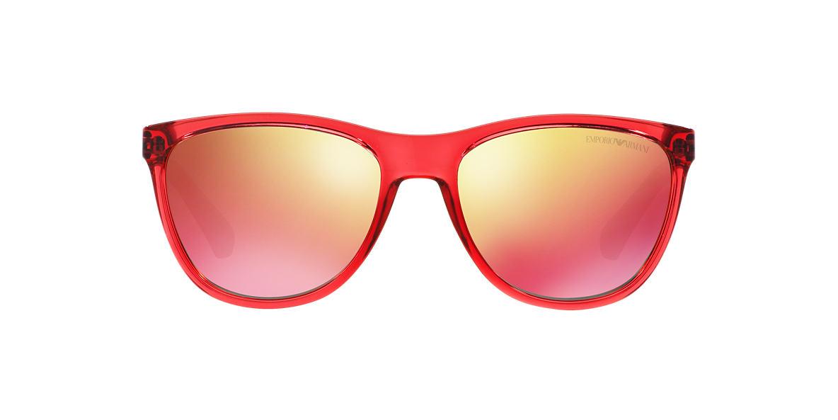 EMPORIO ARMANI Pink EA4053 57 Red lenses 57mm