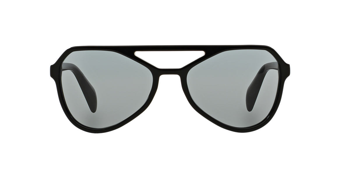PRADA Black PR 22RS 58 TYPE Grey lenses 58mm