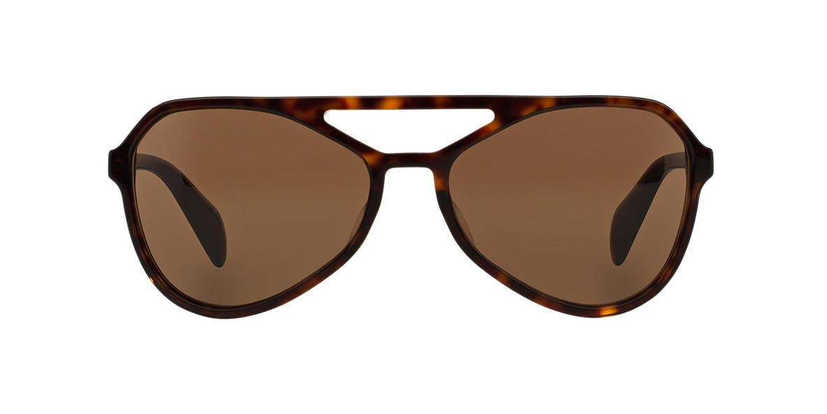 PRADA Tortoise PR 22RS 58 TYPE Brown lenses 58mm