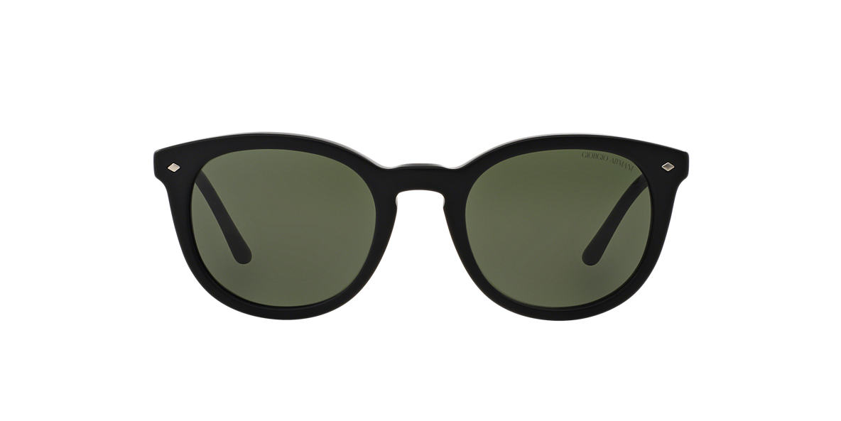 GIORGIO ARMANI Black AR8060 Green lenses 50mm