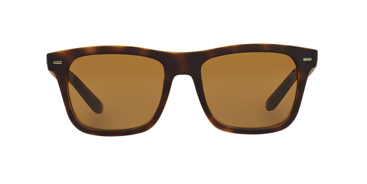 DOLCE AND GABBANA Yellow DG6095 55 Brown polarised lenses 55mm