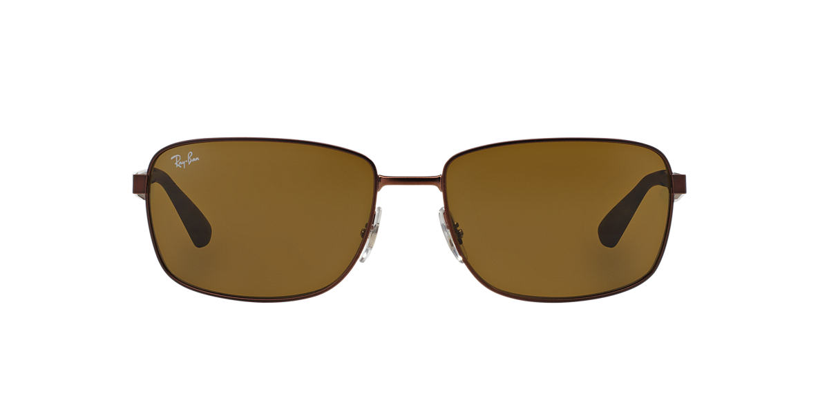 RAY-BAN Brown RB3529 61 Brown lenses 61mm