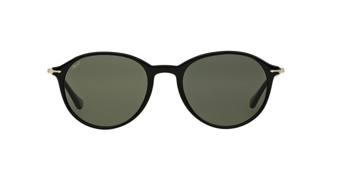 PERSOL Black PO3125S 51 Grey polarized lenses 51mm