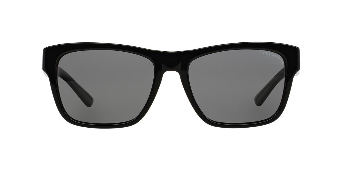 BURBERRY Black BE4194 Grey polarised lenses 58mm