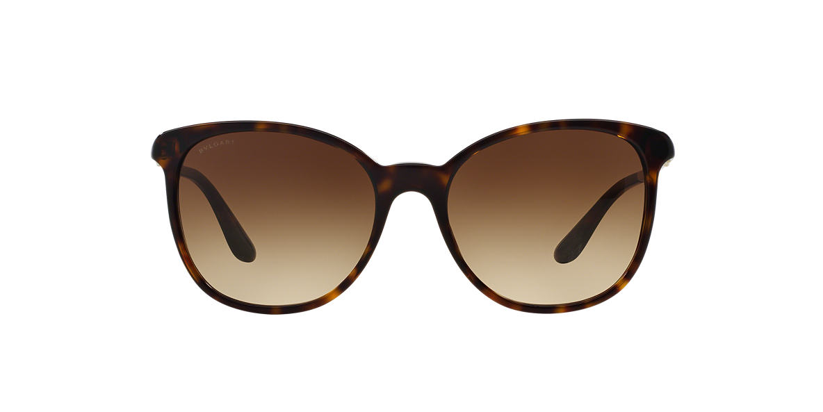 BVLGARI SUN Tortoise BV8160B 54 Grey lenses 54mm