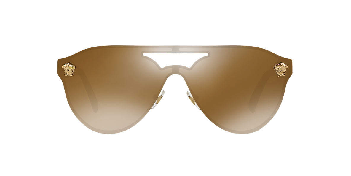 VERSACE Gold VE2161 42 Brown lenses 42mm