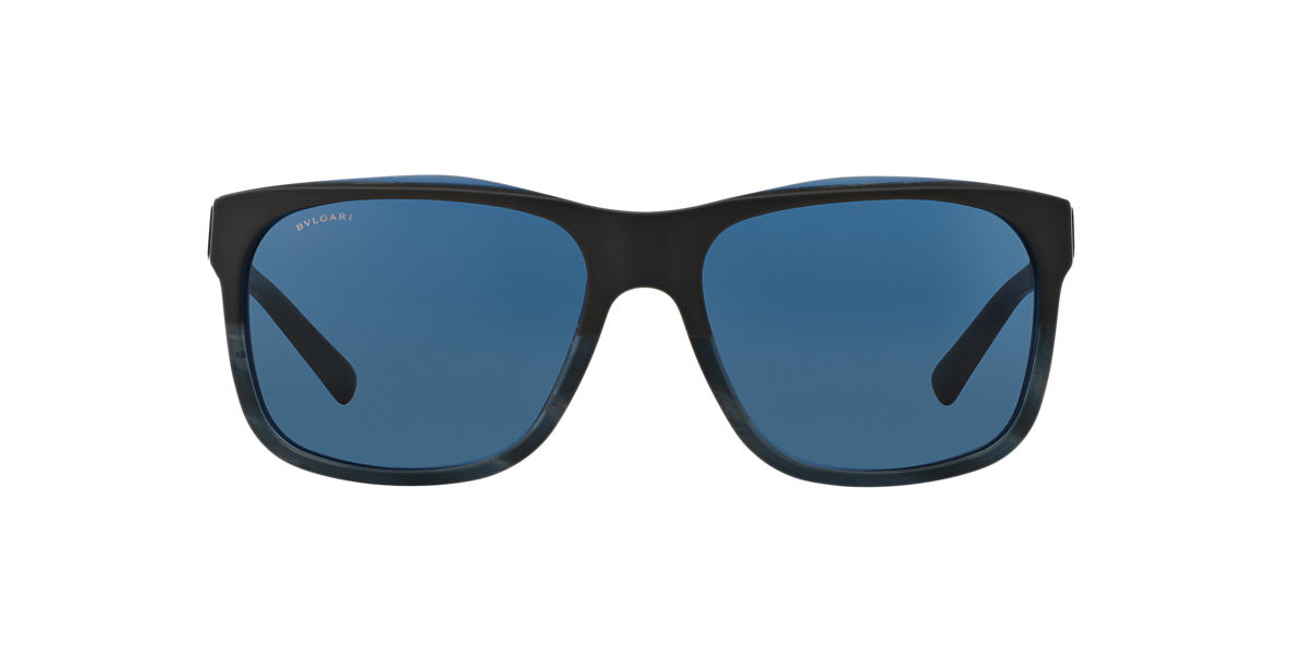 BVLGARI SUN Blue BV7024 59 Blue lenses 59mm