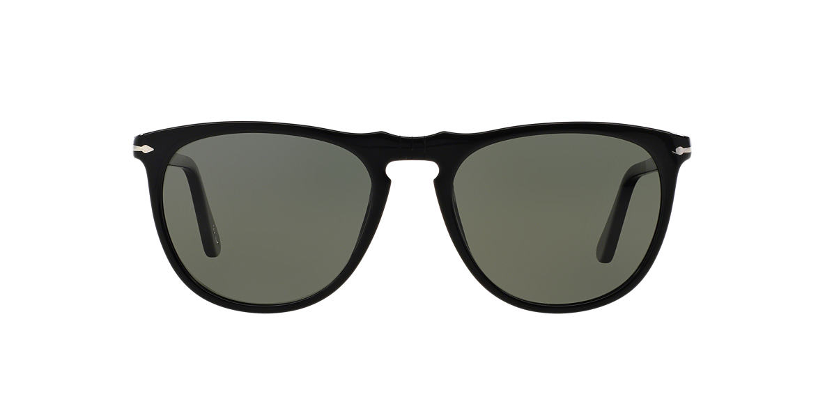 PERSOL Black PO3114S 53 Green polarised lenses 53mm
