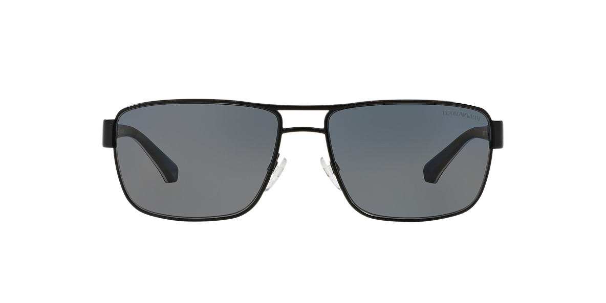 EMPORIO ARMANI Black EA2031 Grey polarised lenses 62mm