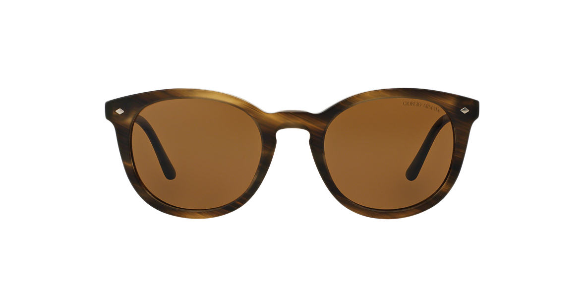 GIORGIO ARMANI Brown AR8060 50 Brown polarized lenses 50mm