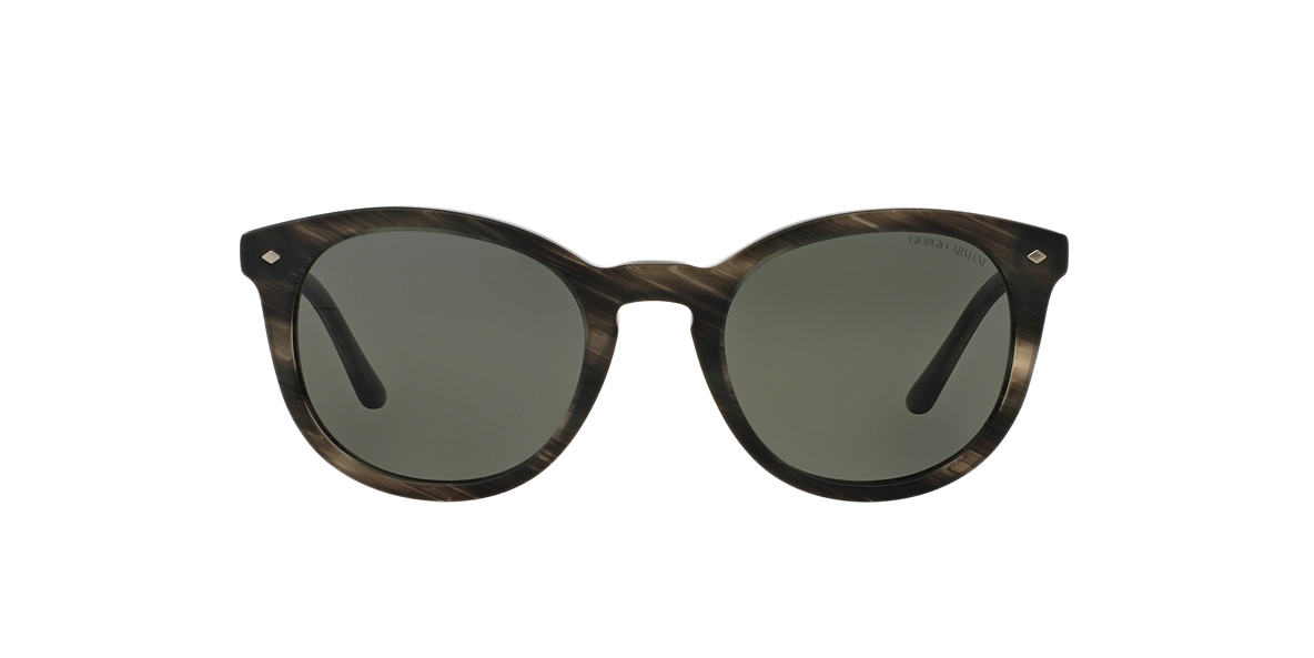 GIORGIO ARMANI Grey AR8060 50 Green polarized lenses 50mm