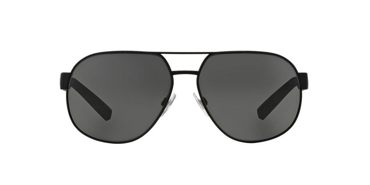 DOLCE and GABBANA Black Matte DG2147 61 Grey lenses 61mm
