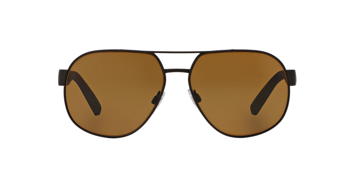 DOLCE and GABBANA Brown DG2147 61 Brown polarized lenses 61mm